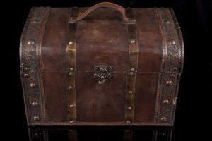 BDSM storage trunk for your kinky dungeon toys.