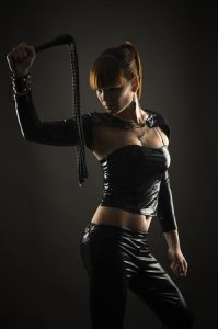 Dominant woman - a Mistress to be served.