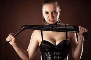 """My new custom leather flogger from """"The Toy Master"""""""