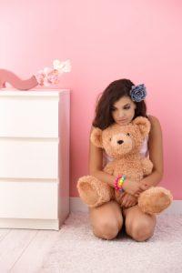 Little girl roleplaying - alternative liifestyles